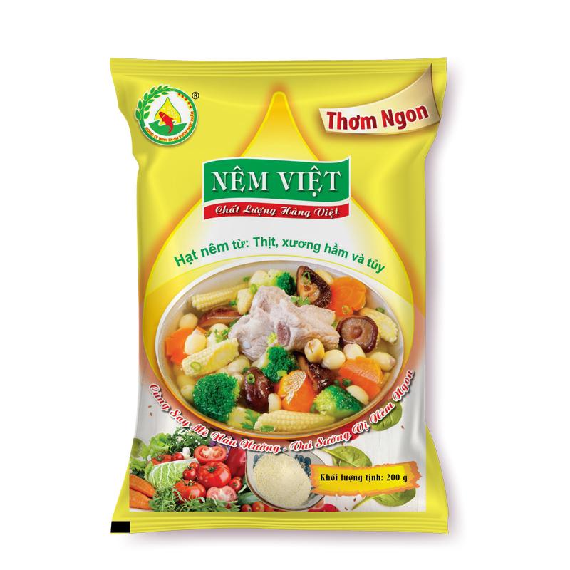 Hạt nêm từ thịt, xương hầm và tủy gói 200gr (Thơm Ngon)