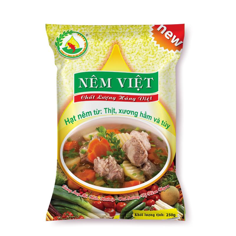 Hạt nêm từ thịt, xương hầm và tủy gói 250gr (Mới)