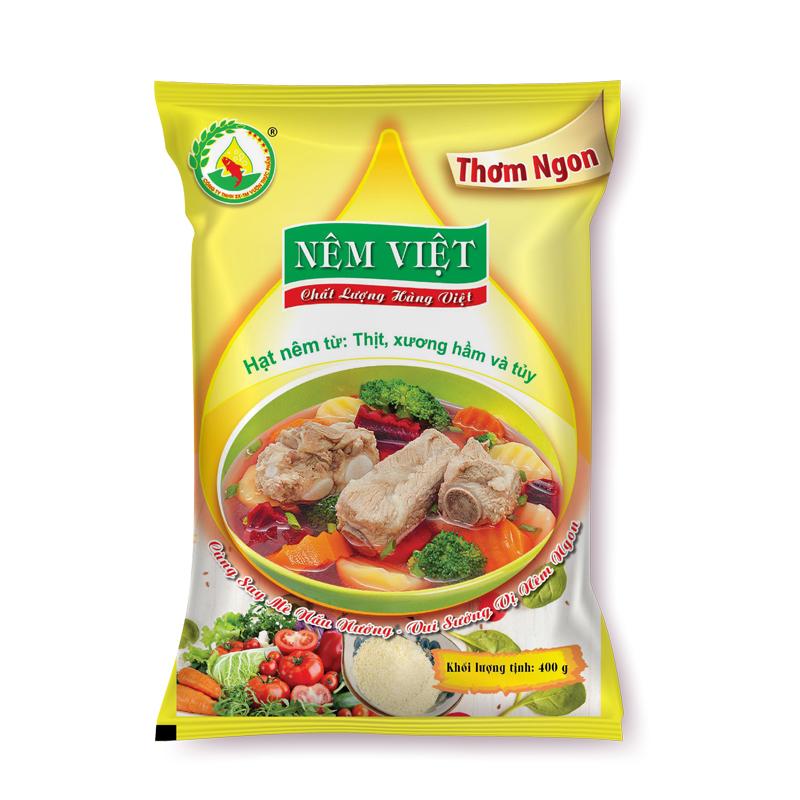 Hạt nêm từ thịt, xương hầm và tủy gói 400gr (Thơm Ngon)
